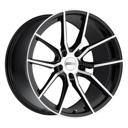 Cray Wheels Spider - Gloss Black with Mirror Cut Face Rim