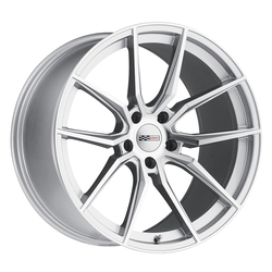 Cray Wheels Spider - Silver with Mirror Cut Face Rim - 19x10.5