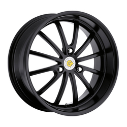 Genius Wheels Darwin - Matte Black Rim - 15x6.5
