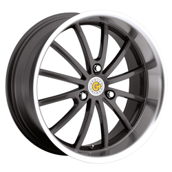 Genius Wheels Darwin - Gunmetal Rim - 15x6.5