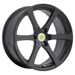 Genius Wheels Newton - Matte Black Rim - 15x6.5