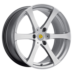 Genius Wheels Genius Wheels Newton - Hyper Silver - 15x5.5