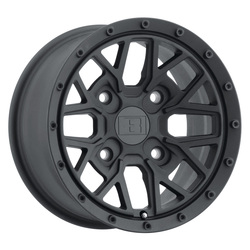 Level 8 Wheels Anarchy - Textured Matte Black