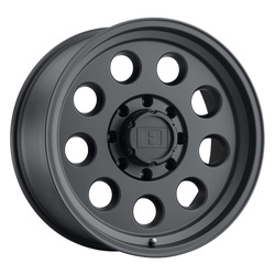 Level 8 Wheels Hauler - Matte Black Rim - 16x8.5