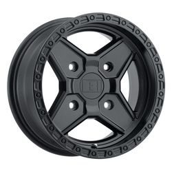 Level 8 Wheels Intruder - Matte Black Rim