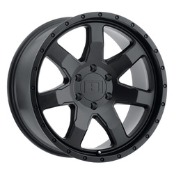 Level 8 Wheels Slam - Matte Black Rim