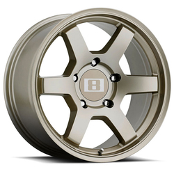 Level 8 Wheels MK6 - Matte Bronze Rim