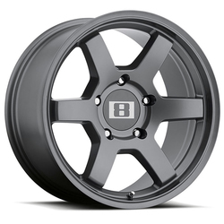 Level 8 Wheels MK6 - Gunmetal Rim