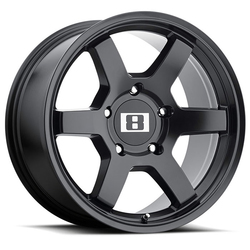 Level 8 Wheels MK6 - Matte Black Rim