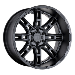Level 8 Wheels Slingshot - Matte Black Big X Factor Rim