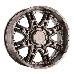 Level 8 Wheels Slingshot - Matte Bronze Rim