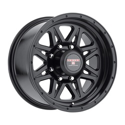 Level 8 Wheels Strike 8 - Matte Black Rim