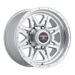 Level 8 Wheels Strike 8 - Silver w/Machined Lip Rim - 16x8.5