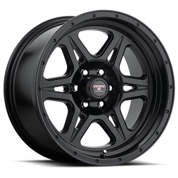 Level 8 Wheels Strike 6 - Matte Black Rim