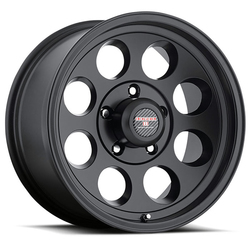 Level 8 Wheels Tracker - Matte Black Rim - 16x8.5