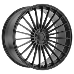 Mandrus Wheels 23 - Matte Black Rim