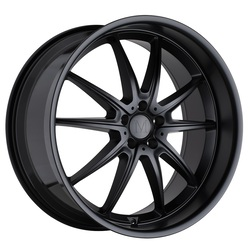 Mandrus Wheels Argent - Matte Black Rim - 19x9.5
