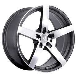 Mandrus Wheels Arrow - Gunmetal W/Mirror Cut Face Rim