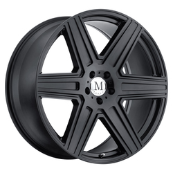 Mandrus Wheels Atlas - Matte Black Rim - 16x7