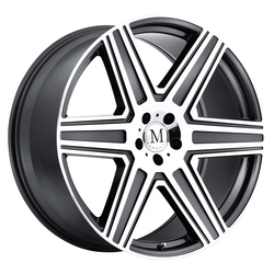 Mandrus Wheels Atlas - Gunmetal W/Mirror Cut Face Rim - 16x7