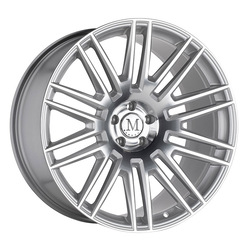Mandrus Wheels Estate - Silver w/Mirror Face RF Rim - 22x10