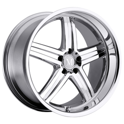 Mandrus Wheels Mannheim - Chrome Rim - 22x10.5