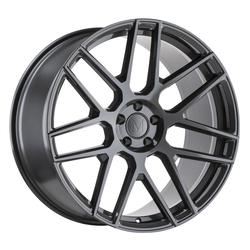 Mandrus Wheels Miglia - Gloss Gunmetal Rim - 22x10.5