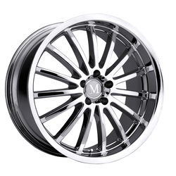 Mandrus Wheels Millennium - Chrome Rim - 22x10.5