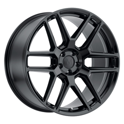 Mandrus Wheels Otto - Gloss Black Rim - 22x10.5