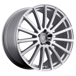 Mandrus Wheels Rotec - Silver W/Mirror Cut Face Rim - 22x10.5