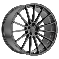Mandrus Wheels Stirling - Gloss Gunmetal Rim - 22x10.5
