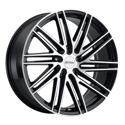 Petrol Wheels P1C - Gloss Black / Machined Face Rim