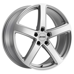 Petrol Wheels P2A - Silver w/Machine Cut Face - 19x8
