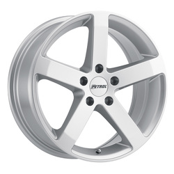 Petrol Wheels P3B - Gloss Silver Rim
