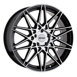 Petrol Wheels P3C - Gloss Black w/ Machined Face Rim