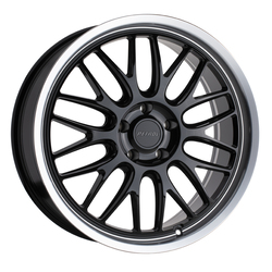Petrol Wheels P4C - Gloss Black w/ Machined Lip Rim