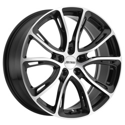 Petrol Wheels P5A - Gloss Black w/Machine Cut Face - 19x8