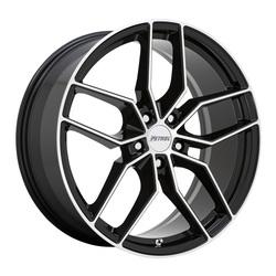 Petrol Wheels P5C - Black Machined Rim - 19x8