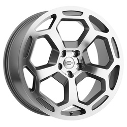 Redbourne Wheels Bashford - Gunmetal with Mirror Cut Face