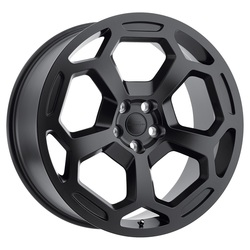 Redbourne Wheels Bashford - Matte Black