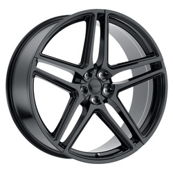 Redbourne Wheels Crown - Gloss Black Rim - 22x10