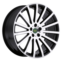 Redbourne Wheels Dominus - Gloss Black with Mirror Cut Face - 20x9.5