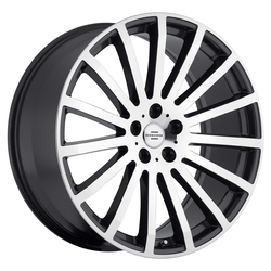 Redbourne Wheels Dominus - Gunmetal with Mirror Cut Face Rim - 22x9.5
