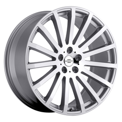 Redbourne Wheels Dominus - Silver with Mirror Cut Face Rim - 22x9.5