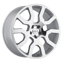 Redbourne Wheels Hercules - Silver with Mirror Cut Face - 20x9.5