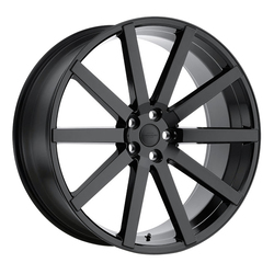 Redbourne Wheels Kensington - Gloss Black - 24x10