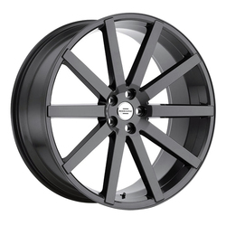 Redbourne Wheels Kensington - Gloss Gunmetal Rim - 24x10