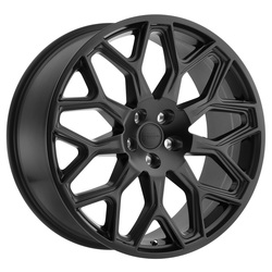 Redbourne Wheels King - Matte Black