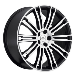 Redbourne Wheels Manor - Matte Black with Matte Machine Face - 20x9.5