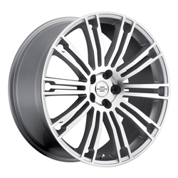 Redbourne Wheels Manor - Silver with Machine Face - 20x9.5